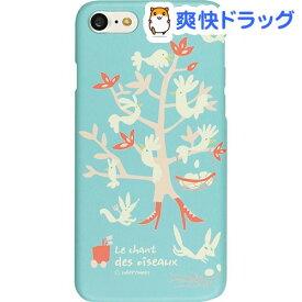 ハッピーモリ iPhone7 バードツリー ミント HM8221i7(1コ入)【ハッピーモリ】