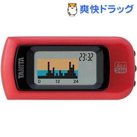 タニタ 活動量計 カロリズム ベーシック レッド AM-112-RD(1台)【タニタ(TANITA)】