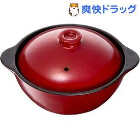 イシガキ産業 chocotto 電子レンジ オーブン対応 耐熱両手ココット 16cm レッド(1コ入)
