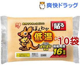 アイリスオーヤマ ほんわか低温カイロ 貼るタイプ レギュラー(10枚入*10袋セット)【アイリスオーヤマ】