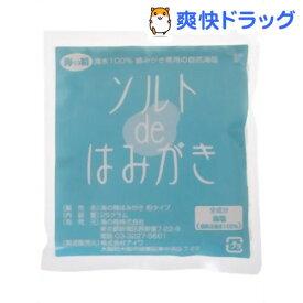 海の精 ソルトで歯みがき 粉タイプ 詰替用(25g)【海の精】