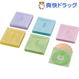 エレコム ブルーレイ・CD・DVD対応不織布ケース CCD-NIWB240ASO(1パック)【エレコム(ELECOM)】