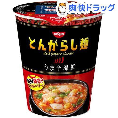 日清のとんがらし麺 うま辛海鮮(1コ入)
