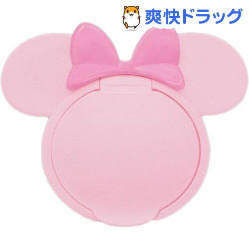 ミニーマウス ウエットティッシュふた P*P (ピンク/ピンク)(1コ入)