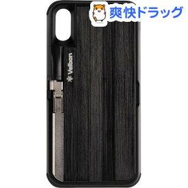 ベルボン 自撮り棒付きスマートフォンケース QYCS-V102 ブラック iPhoneX対応(1個)【ベルボン】