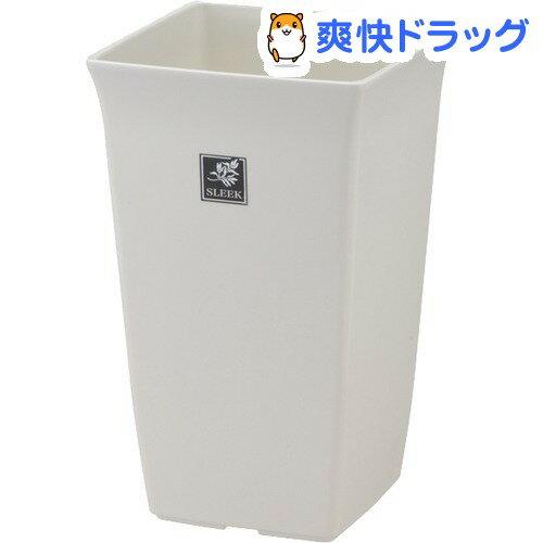 スリーク トールポット 5号 ホワイト(1コ入)【スリーク】
