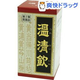 【第2類医薬品】温清飲エキス錠クラシエ(180錠)【クラシエ漢方 赤の錠剤】