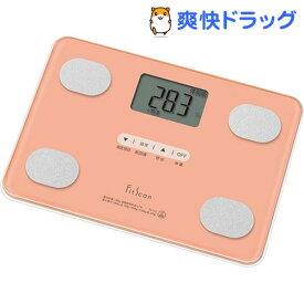 タニタ 体組成計 Fit Scan コーラルピンク FS-102-PK(1台)【タニタ(TANITA)】