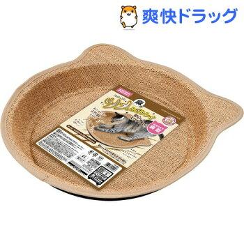 ニャンタクラブニャン太の麻のツメとぎトレイ猫耳付き鍋型