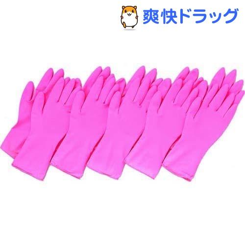 左右兼用薄型家庭用ゴム手袋(10枚入)