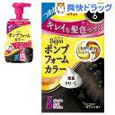 【在庫限り】ビゲン ポンプフォームカラー 詰替剤 6 ダークブラウン ポンプ付(3個セット)【ビゲン】