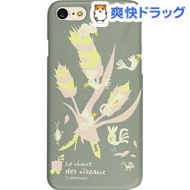 ハッピーモリ iPhone7 バードツリー グレー HM8223i7(1コ入)【ハッピーモリ】