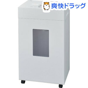 パーソナルシュレッダ マイクロカット ダストレスタイプ ホワイト NSE-DLM01W(1台)