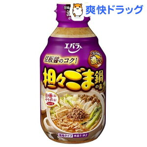 エバラ 担々ごま鍋の素(300ml)【エバラ】