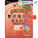 カンロ フルーツドルチェグミ 白桃(58g*4袋セット)
