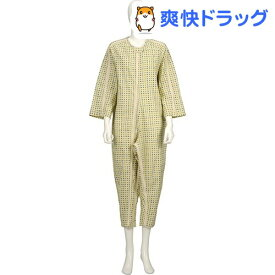 ソフトケア ねまき スリーシーズン みどり L(1枚入)【ソフトケア(介護用品)】