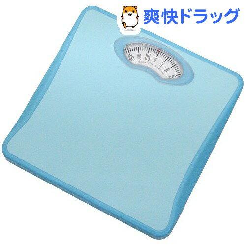 ドリテック アナログ体重計 シェイプス ブルー BS-302BL(1台)【ドリテック(dretec)】