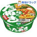 【訳あり】マルちゃん 緑のまめたぬき天そば(ミニカップ) (1コ入)