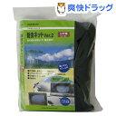 カーメイト 防虫ネット Ver.2 リア用(左右1組入) ブラック LM36(1セット)【カーメイト】