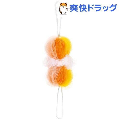 マーナ 背中も洗えるシャボンボール ミックス イエロー B873Y(1コ入)【マーナ】
