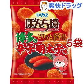 ぼんち ぼんち揚 辛子明太子味(65g*5袋セット)