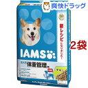 アイムス 成犬用 体重管理用 チキン 中粒(12kg*2袋セット)【m3ad】【アイムス】