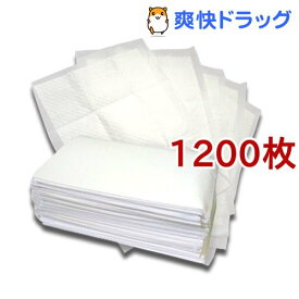 ペットシーツ レギュラー 薄型(300枚入*4コセット)【オリジナル ペットシーツ】