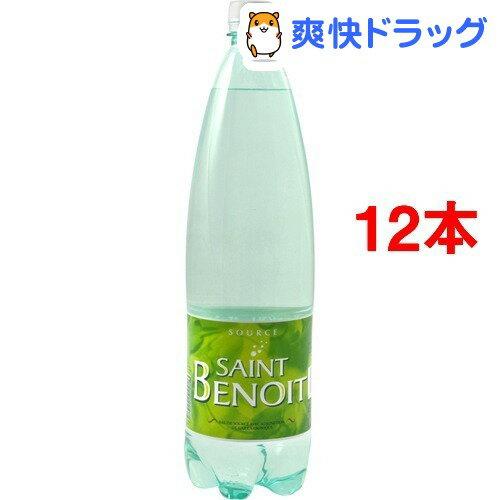サンブノワ 炭酸水(1.25L*6本入*2コセット)【サンブノワ(Saint Benoit)】[ミネラルウォーター 水 1250ml 12本入]