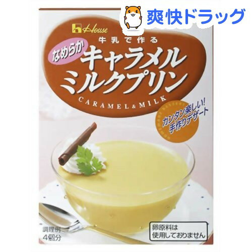 【訳あり】キャラメルミルクプリン(47g)【ハウス】