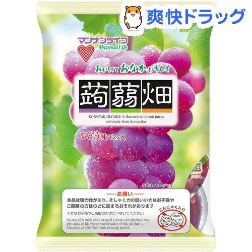 蒟蒻畑 ぶどう味(25g*12コ入)【蒟蒻畑】