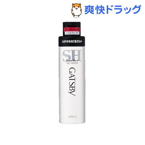 ギャツビー ジェルウォーター スーパーハード(200mL)【GATSBY(ギャツビー)】