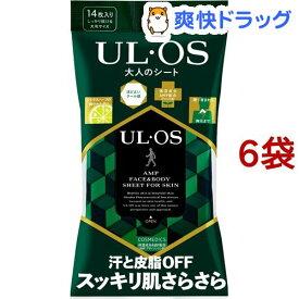 大塚製薬 UL・OS ウルオス 大人のシート(14枚入*6袋セット)【ウルオス(UL・OS)】