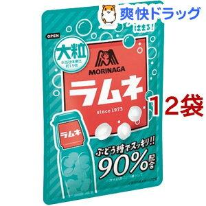 森永 大粒ラムネ(41g*12袋セット)【森永製菓】