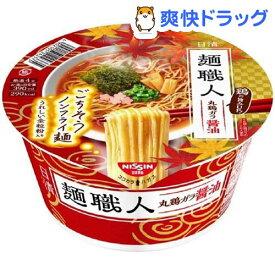 日清麺職人 醤油 ケース(88g*12個入)【日清麺職人】