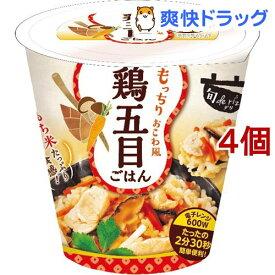 旬 de riz 鶏五目ごはん(160g*4個セット)【おくさま印】
