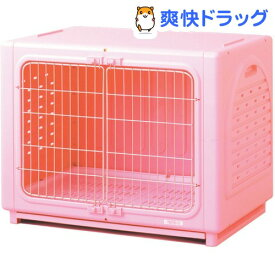 ペッツルート ワンルーム ステンレス ピンク Lサイズ(1コ入)