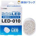 クレベリン LED 交換用カートリッジ LED-010(1台)【送料無料】