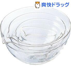 ハリオ 耐熱ガラス製 片口ボール KB-2518(4コ入)【ハリオ(HARIO)】