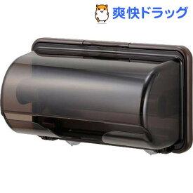 プラススマート キッチンペーパーホルダー ブラウン(1コ入)
