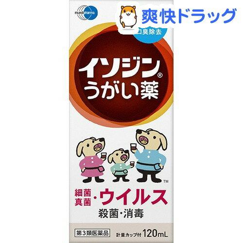【第3類医薬品】イソジンうがい薬(120mL)【イソジン】