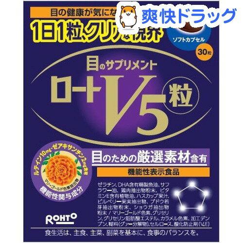 【機能性表示食品】ロートV5(ファイブ)粒(30粒)【ロート】
