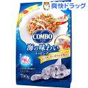 コンボ 猫下部尿路の健康維持 まぐろ味・カニカマ・小魚添え(140g*5袋入)【コンボ(COMBO)】[キャットフード]
