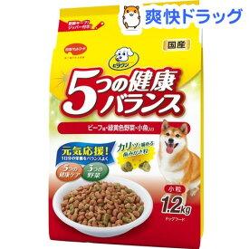 ビタワン 5つの健康バランス ビーフ味・野菜入り小粒(1.2kg)【ビタワン】[ドッグフード]