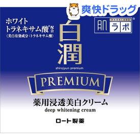 【訳あり】肌ラボ 白潤プレミアム 薬用浸透美白クリーム(50g)【肌研(ハダラボ)】