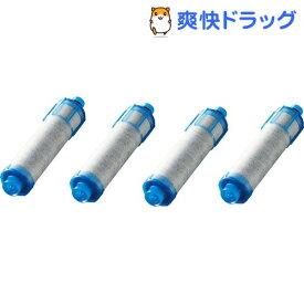 イナックス 交換用浄水カートリッジ 高塩素除去タイプ 4本セット(1年分) JF-21F(1セット)【INAX(イナックス)】