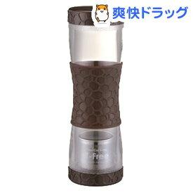 ツインキャップボトル ティーフリー 500ml ブラウン AA0025(1コ入)