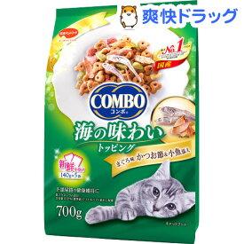 コンボ 猫下部尿路の健康維持 まぐろ味・かつお節・小魚添え(140g*5袋入)【コンボ(COMBO)】[キャットフード]