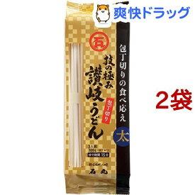石丸製麺 技の極み 讃岐うどん包丁切り(300g*2袋セット)