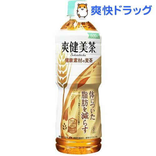 爽健美茶 健康素材の麦茶(600mL*24本入)【爽健美茶】【送料無料】