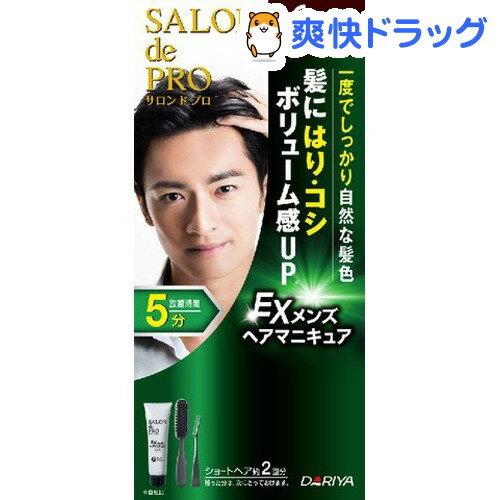 サロンドプロ EX メンズヘアマニキュア 6 ダークブラウン(1セット)【サロンドプロ】